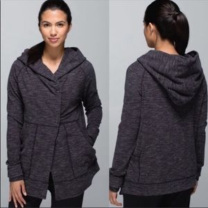 Lululemon Find Your Centre Wrap Heathered Gray 2
